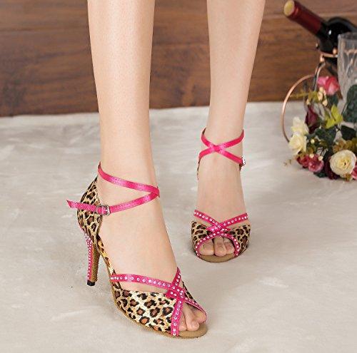 Leopard Ballroom Heel Donna Miyoopark 8 5cm pUCq6
