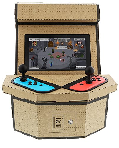 Nyko PixelQuest Arcade Kit - Constructible Arcade Kit with Customizable Pixel Art Sticker Kit and Arcade Stick Toppers… 2