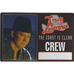 Tracy Lawrence 1997 Coast Is Clear Tour Backstage Pass