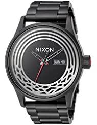 Nixon Mens Star Wars Kylo Quartz Stainless Steel Casual Watch, Color:Black (Model: A356SW2444-00)