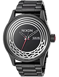 Nixon Star Wars Men's A356SW2444-00 Star Wars Kylo Analog Display Japanese Quartz Black Watch