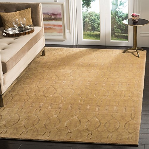 Safavieh Tibetan Collection TB200D Hand-Knotted Camel Wool Area Rug (4' x ()