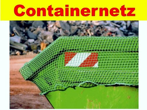 Anh/ängernetz Containernetz Ladungssicherungsnetz Netz 2,5 x 3,5 Meter