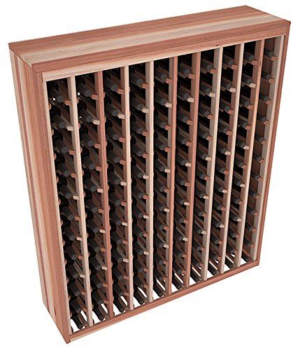 Wine Racks America Redwood 120 Bottle Deluxe. 13 Stains to Choose From! (Wine Rack 120 compare prices)