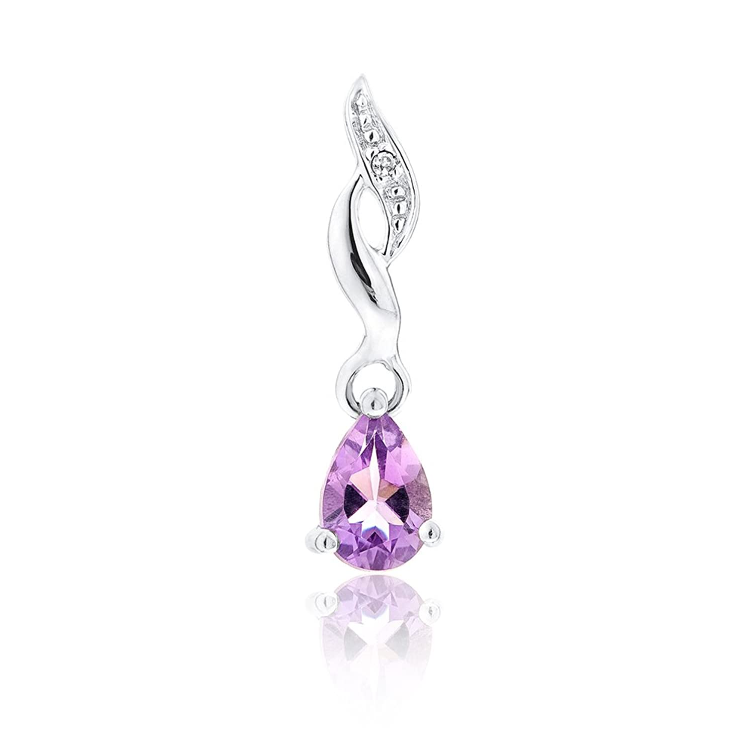 Ornami Glamour 9ct accent Drop Earrings cms8wt