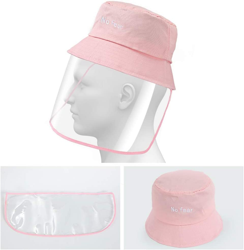 Anti Spitting and Anti Saliva Fog Dust UV Sun Full Protective Hat Cover Outdoor Fisherman Hat Adjustable Size for Men and Women Protective Bucket Hat