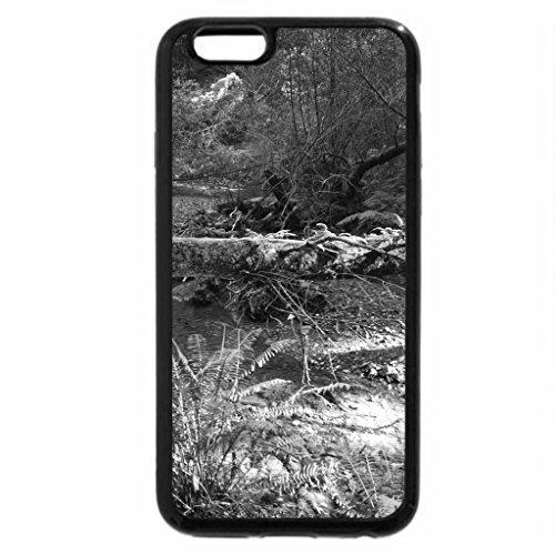 iPhone 6S Plus Case, iPhone 6 Plus Case (Black & White) - Muir Woods
