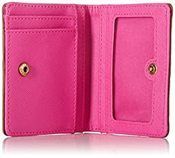 Emma Mini Wallet Wallet, Pink Multi, One Size