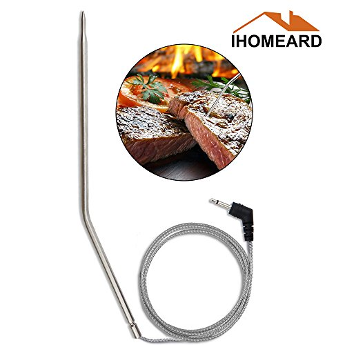Replacement Temperature Thermometer Meat BBQ Grill Probe Stainless Steel Probes Food Probe For Wireless Digital Thermometer for Cooking, Barbecue/BBQ Grill, Oven, Baking, Roast (probe)