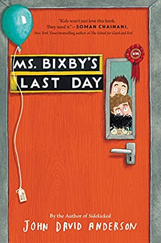 book cover of Ms. Bixby\'s Last Day