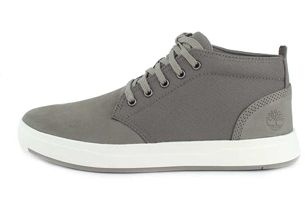 Timberland Men's, Davis Square Chukka Boots Gray 8 M: Amazon