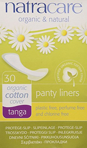 (Natracare Organic Thong/Tanga Panty Liners (Pack of 2))