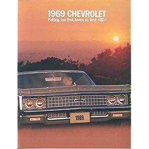 1969 Chevrolet Full Size Brochure Impala SS Caprice