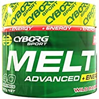 Cyborg Sport Melt Advanced + Energy 40 Serves [Flavour Options: Tropical Storm]