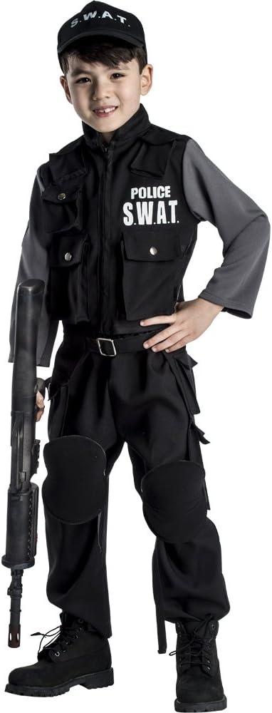 Dress Up America Disfraz de SWAT Jr. para niño: Amazon.es ...