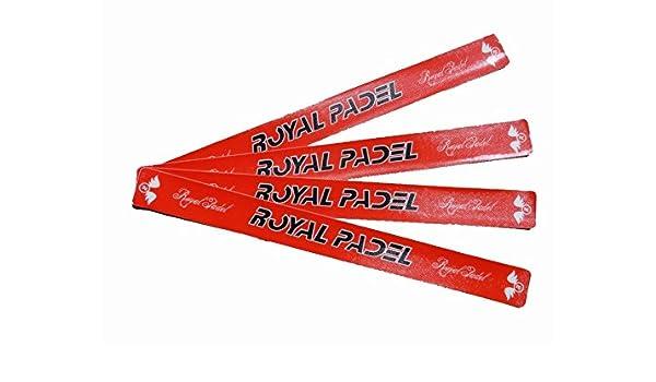 Protector Royal Padel Rojo Letras Negras: Amazon.es: Deportes y ...