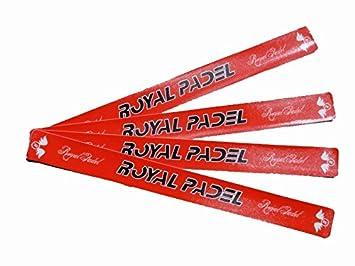 Protector Royal Padel Rojo Letras Negras: Amazon.es: Deportes y aire libre
