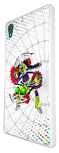 2031 - Cool Cartoon Hero Transformer Robotics Gamers Design For Sony Xperia Z3 Fashion Trend CASE Back COVER Plastic&Thin Metal - White