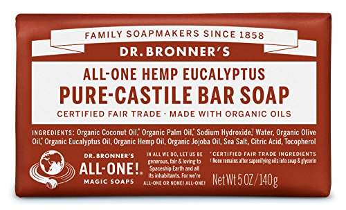 Eucalyptus Bar (Dr Bronners Magic Soap All One Obeu05 5 Oz Eucalyptus Dr. Bronner'S Bar)