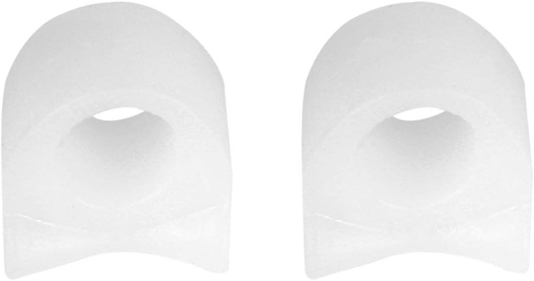 MXECO dedo del pie Separador del silicio suave del cuidado de pies tirantes profesional es compatible con herramientas Relax Almohada alivio del dolor Hallux valgus ortesis