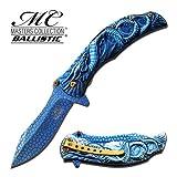 MTech Dragon Fury Pocket Knife - Blue