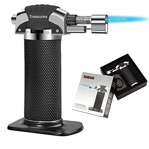 Kitchen Blow Torch (WITH A STAND) |2018 UPGRADED by Treasuries |...
