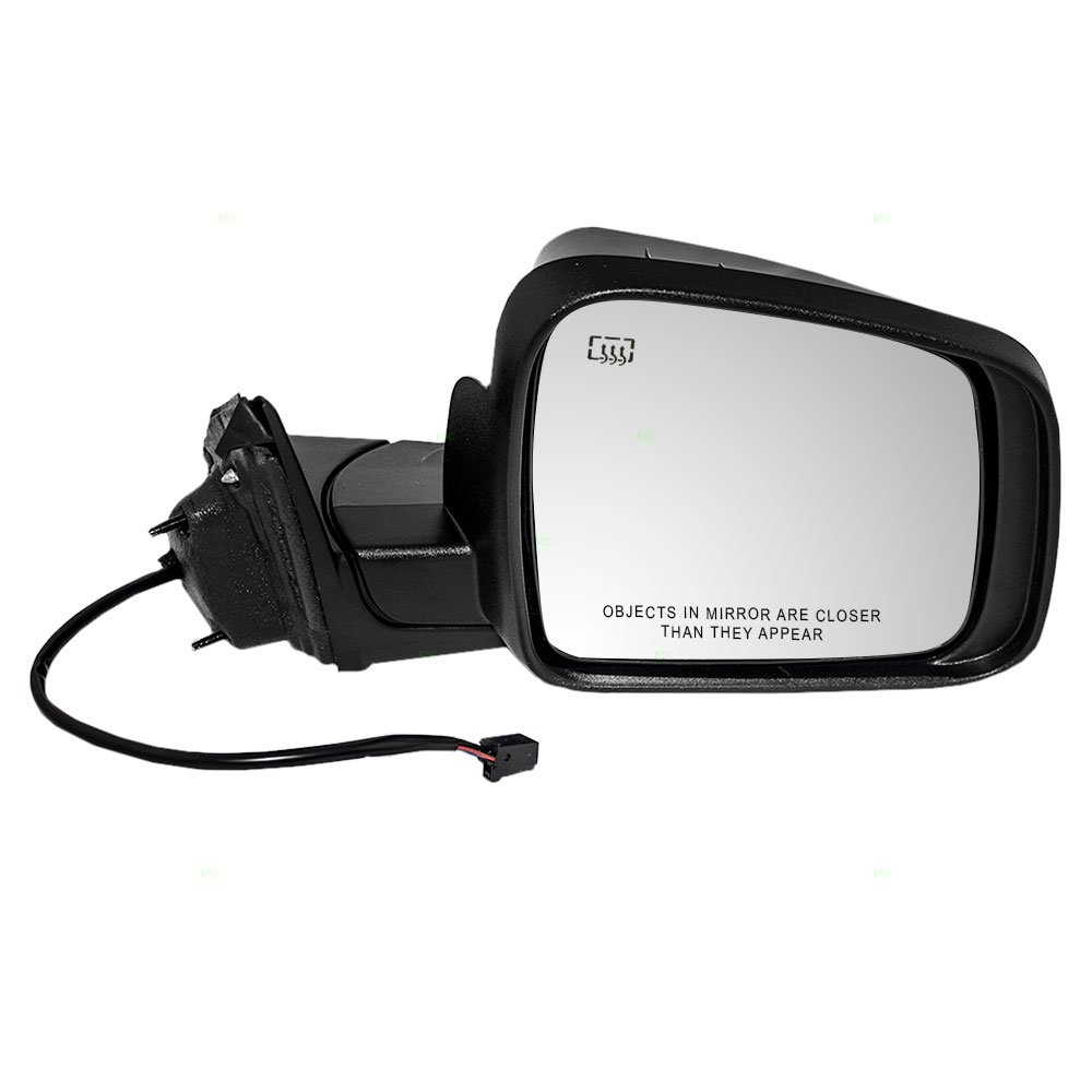 Power Side View Mirror Heated Passenger Replacement for 11-18 Jeep Grand Cherokee 5SG18AXRAF CH1321330 128-02203R