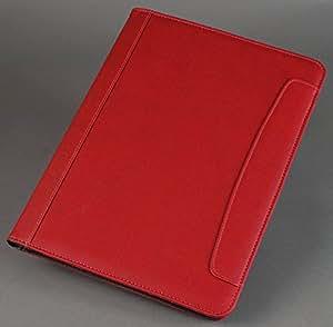Alassio Messina - Portadocumentos A4, color rojo