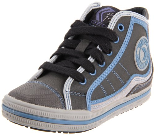 Geox Jr Elvis Shoes Boys 'Boots Gris Fonc
