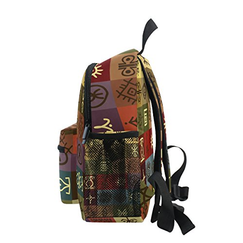 Bag Backpack Girls Kindergarten Ethnic School Boy Pre African Kids Toddler Tribal Egyptain ZZKKO for qUpX8Ow