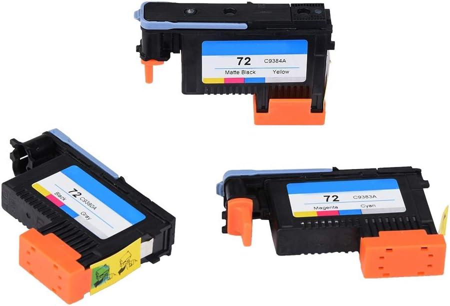 T2300 Mini Testina di Stampa,per HP Designjet T610 T1120HD Nero Opaco//Giallo+Nero//Grigio+Magenta//Ciano T1200 T1120 T1300 T790 T795 Serie SD T1100PS T1120PS T1100MFP T770
