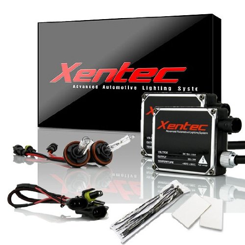 Xentec Xenon bulb H11 (H8/H9) 6000K x 1 pair bundle with 2 x 35W Digital Ballast (Ultra White) ()