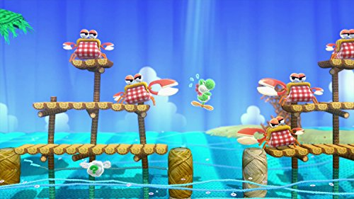 Yoshi Woolly World Bundle Green Yarn Yoshi amiibo - Wii U (Japanese version) by nintendo (Image #11)