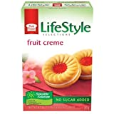 Peek Freans Lifestyle Selections Fruit Creme Sandwich Cookies, 265 Grams/9.3 Ounces