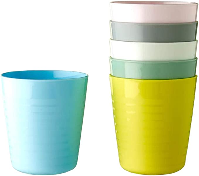 IKEA 004.613.79 Kalas - Taza de plástico para niños (8 x 17 ...