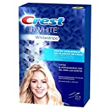 Crest 3D White Whitestrips Tiras Blanqueadoras Dentales, 14 sobres