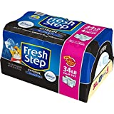 Fresh Step Extreme Scented Litter with the Power of Febreze - Clumping Cat Litter - 34 Pounds