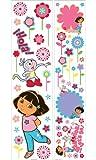 Imperial 31720540 Nickelodeon Dora Explorer Self-Stick Instant Decor Kit, Baby & Kids Zone