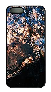 iPhone 5 5S Case landscapes nature 6 PC Custom iPhone 5 5S Case Cover Black