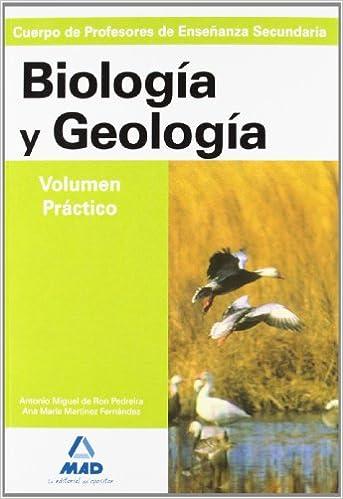 Cuerpo de profesores de enseñanza secundaria. Geologia-biologia ...