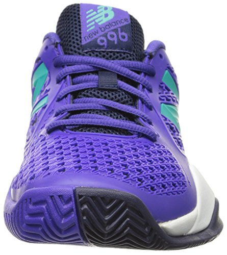 New Balance Women's 996v2 Tennis Shoe Purple