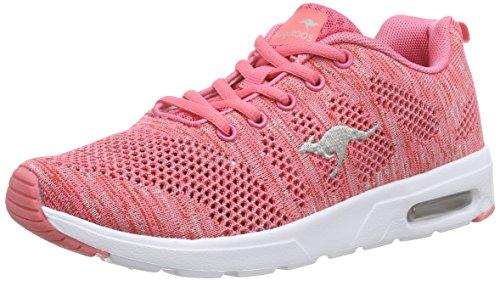 KangaROOS Unisex-Erwachsene Kangacore Knit T Hallenschuhe Pink (salmon/white 610)
