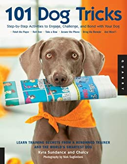 101 Dog Tricks: Step by Step Activities to Engage, Challenge, and Bond with Your Dog by [Sundance, Kyra, Chalcy]