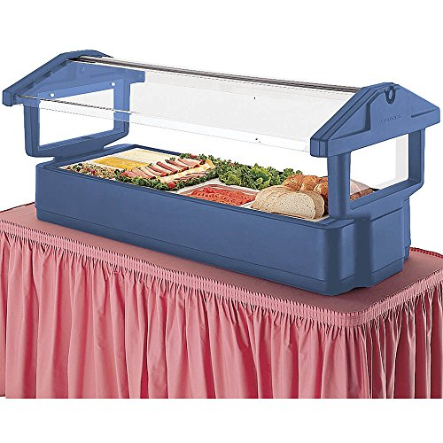 Cambro Food Bar 4Ft Tabletop 3P-Nvybl (4FBRTT186) Category: Food Bars by Cambro