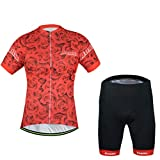 Uriah Women's Bicycle Jersey Shorts Sets Short Sleeve Reflective