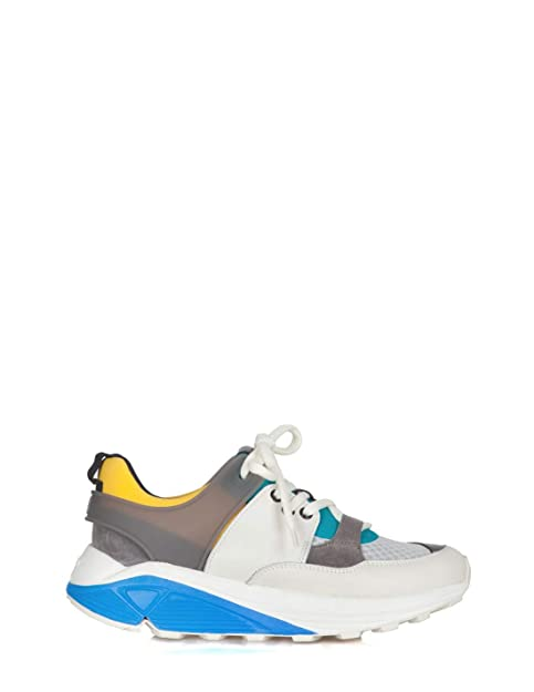 Hs001 Biancoverde Dondup 802 Donna Sneakers Y00001 yY6f7bg