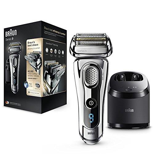 Braun Series 9 9295cc Wet&Dry Foil shaver Recortadora Cromo rasuradora para hombre - Afeitadora (Máquina de afeitar de...