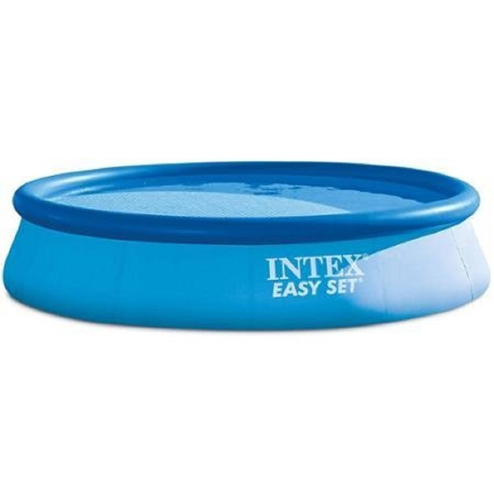 Intex 13 X 33 Easy Set Above Ground Swimming Pool with Filter Pump