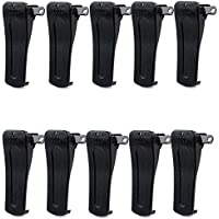 Retevis Belt Clip for Retevis H777 Baofeng 888s Walkie Talkies(10 Pack)