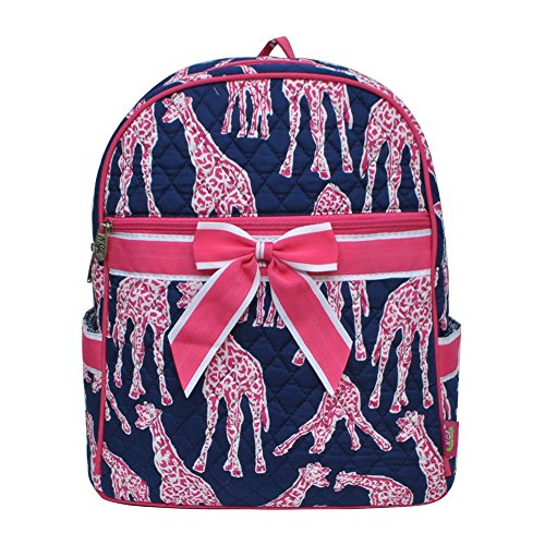 Giraffe Print NGIL Quilted Backpack (Quilted Giraffe)